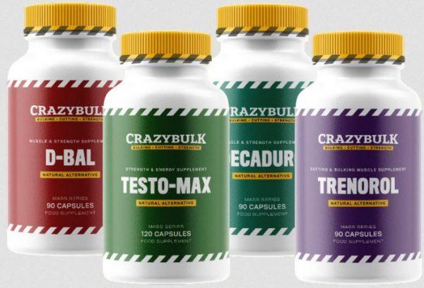crazy bulk bulking stack review