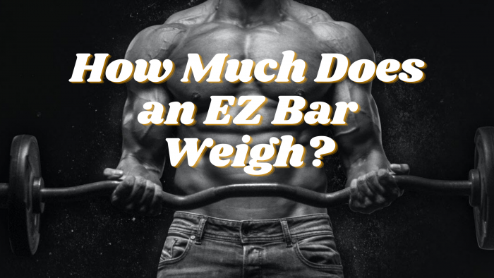 how does much does an ez bar weigh
